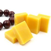 1/2/5/10X natural Pure Beeswax blocks  beeswax Floor Polishing Maintenance fne