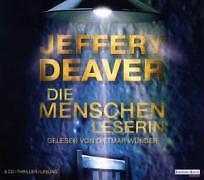 Die Menschenleserin, 8 Audio-CDs von Jeffery Deaver (2008)