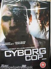 Cyborg Cop (DVD, 2006) NEW SEALED Region 2 PAL