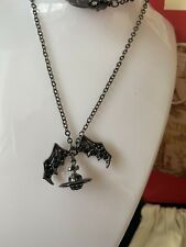 Vivienne Westwood Bat Orb Necklace