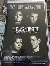 The Glass Menagerie-Zachary Quinto-Broadway Window Card! Last One!!