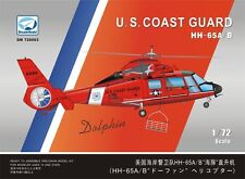 Dream Model 720003 1/72 US Coast Guard HH-65A/B Dolphin Helicopter