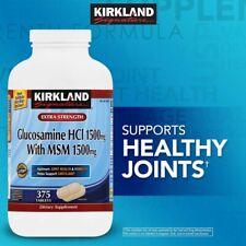 Kirkland Signature Glucosamine with MSM, 375 Tablets