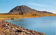 Sturgis Black Hills South Dakota~Bear Butte~Lake~1950s Postcard