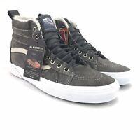 Vans Mens SK8 HI MTE Pewter Asphalt Skate Shoes Size 8.5