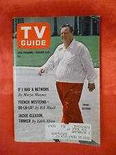 Texas February 6 1965 TV Guide JACKIE GLEASON The Gun from UNCLE Beverly Garland