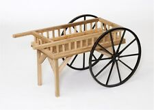 "Peddler Cart 48"" x 18"" Red Cedar Wood Natural Finish Amish-made in Usa"