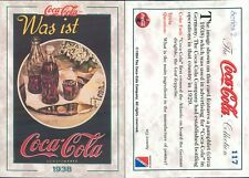 R@R@ AND ORIGINAL CARD U.S.A.*COCA COLA, SECOND SERIES-N.117*- NEW,PERFECT-N.364