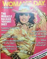 1981 Womans Day Magazine Raquel Welch~Sammy Davis Jr~John Hargreaves +