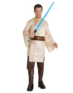 """Star Wars Mens Jedi Costume, Std,CHEST 44"""",WAIST 30-34"""",INSEAM 33"""""""