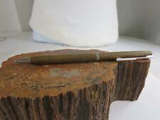 Vintage Hallmark Teak Mid Century Wood Mechanical Pencil RP27