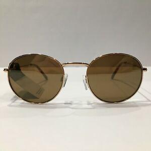 Lucky Brand Sunglasses Colton Gold/Mirrored Brown 51 mm Non-Polarized