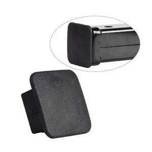 """Rubber Car Kittings 1-1/4"""" Black SUV Trailer Hitch Receiver Cover Cap Plug PARTS"""
