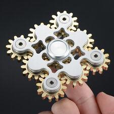 Finger Fidget Hand Spinner Metal Alloy Bearing Gyro Kids Adult Desk Focus Toy