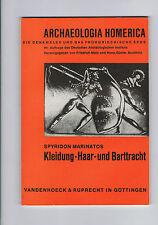 SPYRIDON MARINATOS KLEIDUNG-HAAR-UND BARTTRACHT VANDENHOECK & RUPRECHT  1967
