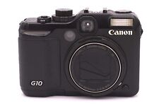 Canon PowerShot G10 14.7 MP Digital Camera - Black