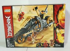 LEGO Ninjago Cole's Dirt Bike 70672 Building Block Kit 212 Pieces New