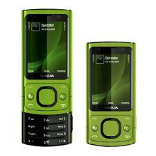 "Nokia 6700S Slide Phone Stand-by 2.2 ""3G sbloccato Bluetooth originale Verde"