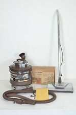 Vintage 1970 Complete Filter Queen Canister Vacuum Cleaner W/ Power Nozzle Extra
