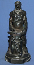 VINTAGE SOVIET RUSSIAN HAND MADE BLACKSMITH STATUETTE