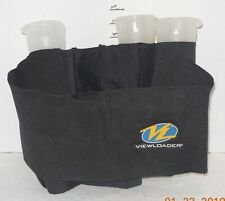 Viewloader Paintball Elastic Harness AMMO Pouch with 3 Viewloader 75 Round Pods