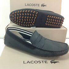 Lacoste Concours 216 Leathe Mens Slip on Loafers Shoes, Size UK 8 /EU 42