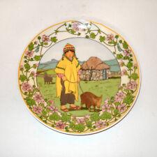 "Heinrich Villeroy Boch Unicef Plate Wall Hanging ""Our Children"" No3, Wandteller"