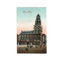 AK Ansichtskarte Feldpost Calais / La Place d´Armes - 1916