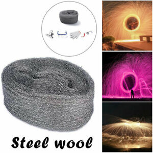 Steel Wool Firework Celebration Flame Magic Fire Trick Simulation New-Year-Party