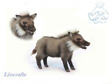 Bush Pig Plush Soft Toy by Hansa from Lincrafts. Red River Hog. 6225