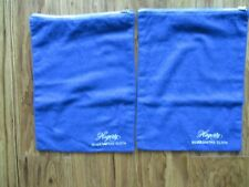 New listing Hagerty Silversmiths cloths (2) 12 x 9 blue