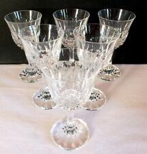 6 verres à pied cristal VB Villeroy et Boch glass (2)