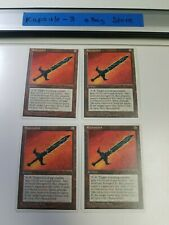4x Runesword | Chronicles | MTG Magic The Gathering Cards