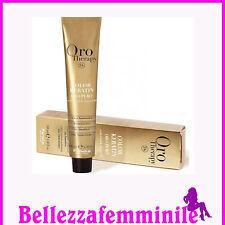 Colore tinta capelli professionale con cheratina e olio di Argan Fanola 100 ML