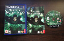 The Matrix Path of Neo Play Station 2 PS2 PAL