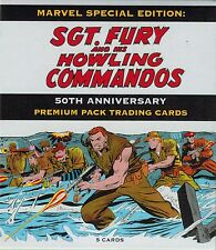 Rittenhouse Marvel Sgt Fury 50th Premium Pack Trading Cards w/ Sketch Card