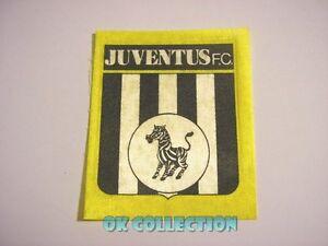 VECCHIO ADESIVO in stoffa / Old Sticker CALCIO FOOTBALL JUVENTUS F.C. (cm 7,5x9)