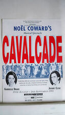 CAVALCADE Herald NOEL COWARD / GABRIELLE DRAKE / JEREMY CLYDE London 1995