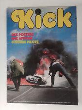magazine moto KICK n°20 posters-fiches pilote-MOTO GUZZI 1000 convert
