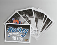 (74247) 2012-13 UPPER DECK HOCKEY HEROES #HH27-38 + HEADER HDR