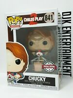 Funko Pop! Movies : Child's Play 2 - Chucky with Scissors # 841 Special Edition
