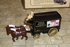 LLEDO - DAYS GONE - HORSE DRAWN  REMOVAL VAN - NORTH EASTERN RAILWAY CO -  OXO