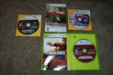 Lot of 3 Fatal Inertia Stranglehold & Call of Duty World at War Xbox 360
