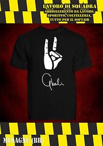 T-Shirt MAGLIETTA GHALI pocket Sto Dende Album Hip Hop Rap Trap Unisex Italiano
