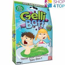 Gelli Baff Swamp Green Turn Water Into Goo Jelly Bath Kids Children New