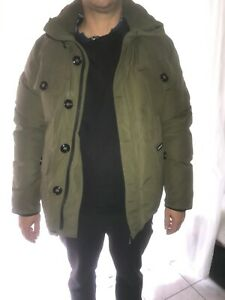 Canada Goose Parka selkirk Green military/XL