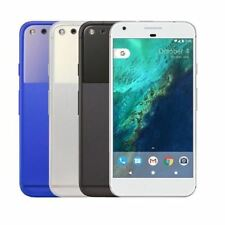 Google Pixel 32GB Very Silver Quite Black Unlocked Android Smartphone + Warranty