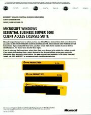 Microsoft Windows Essential Business Server 2008 75 CAL