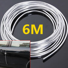 6M 20FT Roll Moulding Trim Strip Car SUV Door Edge Scratch Guard Protector Cover