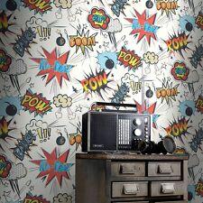 Kapow Comic Wallpaper by Rasch Kids Wallpaper Zap Bang Boom 272604